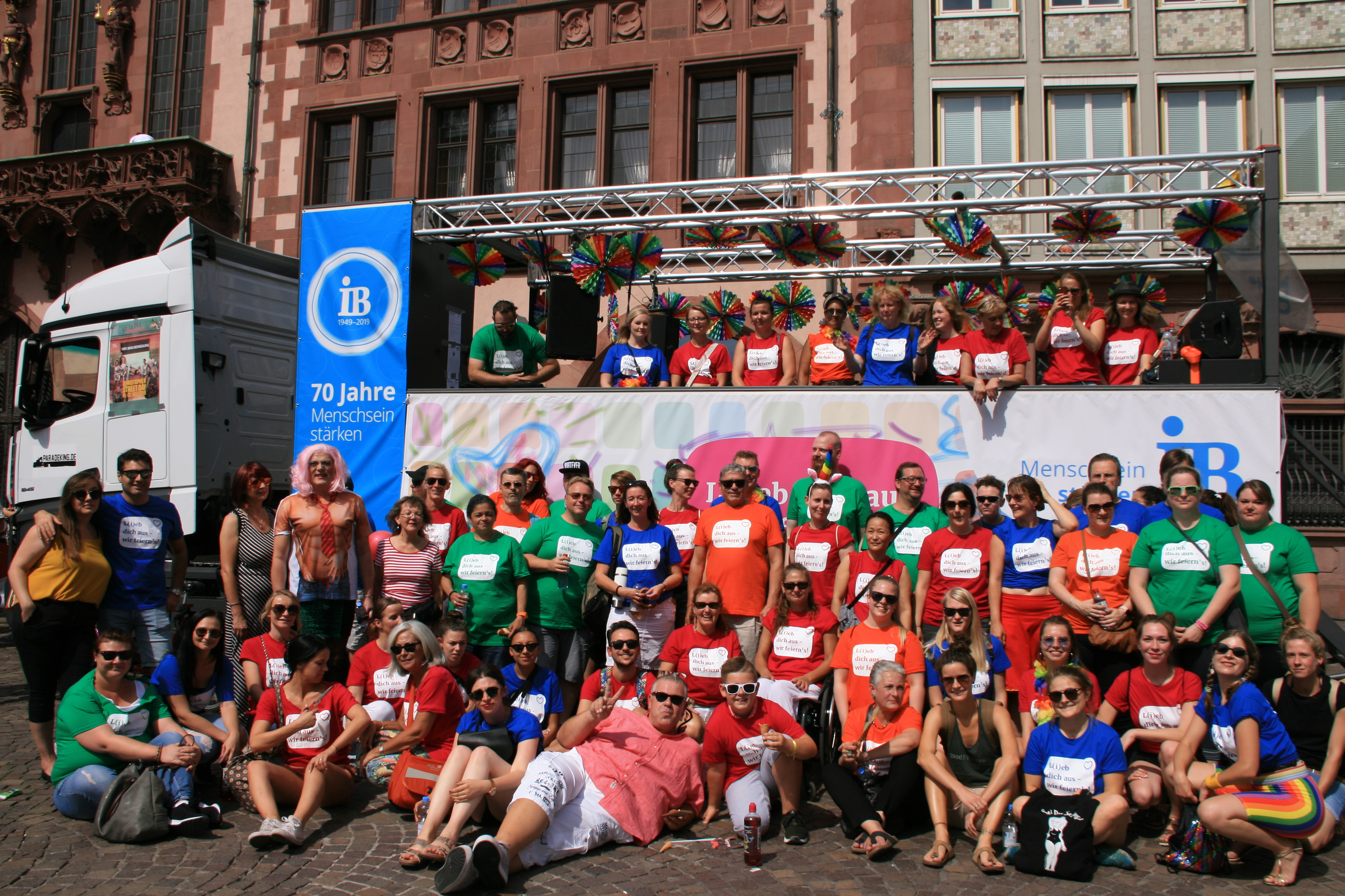 Christopher Street Day in Frankfurt am Main 2019
